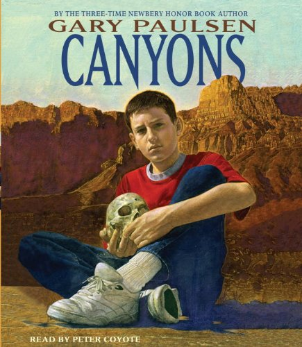 a report on canyons a novel by gary paulsen Hatchet has been banned in a few areas, mostly through parents' objections of  the novel as assigned reading in elementary schools, for.