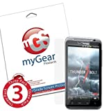myGear Products Diamond DiamondDust Screen Protectors for HTC ThunderBolt (3 Pack) ~ myGear Products