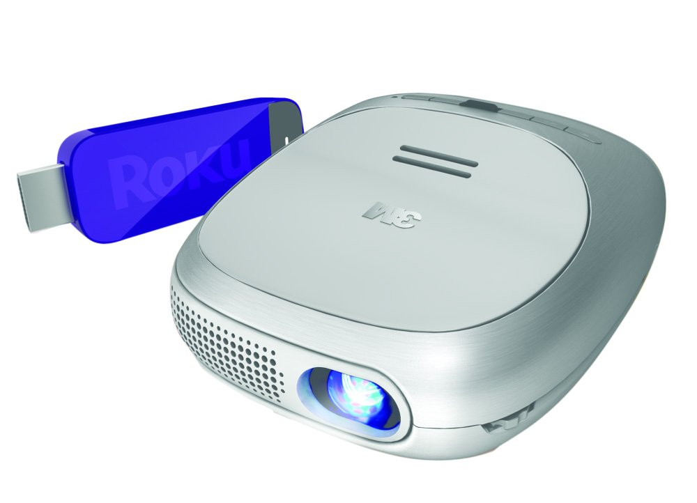 3M Streaming Projector Powered by Roku ($169.99)