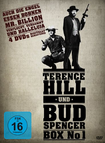 Terence Hill & Bud Spencer Box No 1 [4 DVDs]