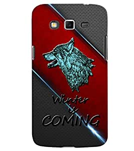 PrintVisa Quotes & Messages 3D Hard Polycarbonate Designer Back Case Cover for Samsung Galaxy Grand 2