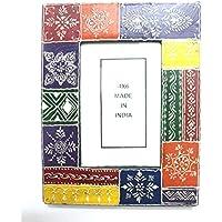 Seema's Craft Creation Photo Frame - Multicolour: Rectangular