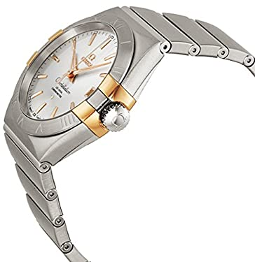 Omega Constellation Co-Axial Automatic Steel and Rose Gold Mens Watch 12320382102004