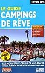 Le Guide Campings de r�ve 2015