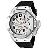 Swiss Legend Men's 10541-02 Trimix Diver Collection Chronograph Black Rubber Watch