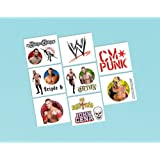 WWE Wrestling Temporary Tattoos (1sheet)