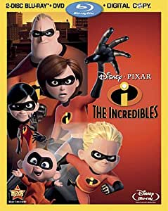 The Incredibles [Blu-ray + DVD + Digital Copy]
