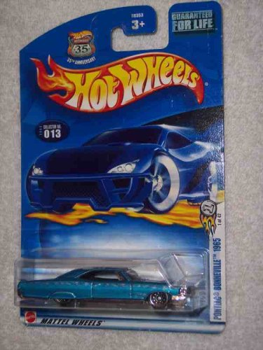 2003 First Editions #1 Pontiac Bonneville 1965 #2003-13 Collectible Collector Car Mattel Hot Wheels - 1