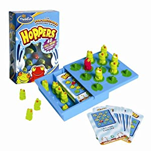 Click to read our review of ThinkFun Hoppers!
