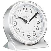 CITIZEN (シチズン) 目覚まし時計 サイレントミグR645 夜間自動点灯 8RE645-019
