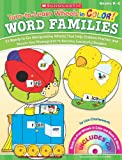 Turn-to-Learn Wheels in Color: Word Families: 25 Ready-to-Go Manipulative Wheels That Help Children Practice and Master Key Phonograms to Become Successful Readers