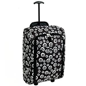 Karabar Super Lightweight Cabin Approved Luggage Bag 55 x 35 x 20 cm, 40 Litres, 1.5 kg, 3 Years Warranty!