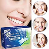 28 PROFESSIONAL TEETH WHITENING STRIPS - ADVANCED HOME WHITESTRIPS *EU AND UK APPROVED *PEROXIDE FREE *NON SLIP TECHNOLOGY * SAFE & EFFECTIVE * DENTAL LEVEL RESULTS * NOT CREST 3D WHITE STRIPES BUT VERY SIMILAR EFFECTS - Alpha ShopperTM by Alpha ShopperTM
