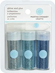 Martha Stewart Crafts Glitter, Lake, 3-Pack