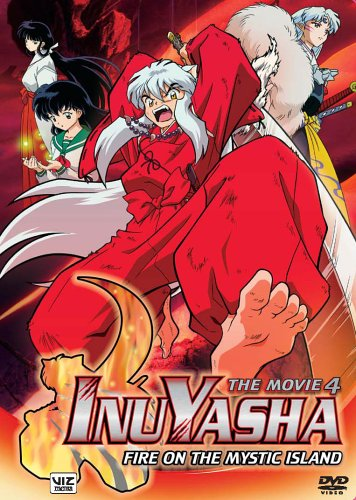 Inuyasha, The Movie 4 - Fire On The Mystic Island front-421818
