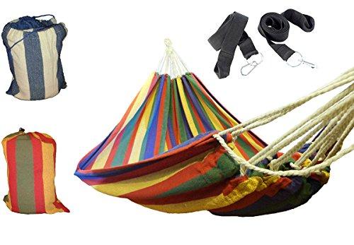 Gartenglck-Hngematte-Mehrpersonen-mit-Befestigungsset-220-x-160-cm-in-verschiedenen-Farben-verfgbar-max-200-kg-inkl-Transportbeutel