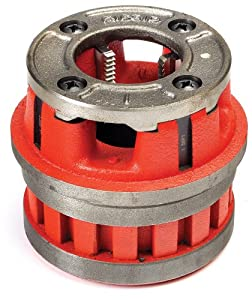 Ridgid 36890 1/2-Inch Capacity Hand Threader Die Head