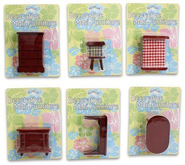 Toy Wooden Furniture Red 6 House Styles