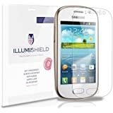 iLLumiShield - Samsung Galaxy Fame Screen Protector Japanese Ultra Clear HD Film with Anti-Bubble and Anti-Fingerprint - High Quality (Invisible) LCD Shield - Lifetime Replacement Warranty - [3-Pack] OEM / Retail Packaging (Model(s): S6810)