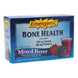 Alacer Emergen-C Alacer Emergen-C Vitamin D And Calcium Mixed Berry, Mixed Berry 30 packet