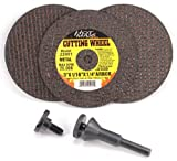 Hot Max 26182 Mandrel and Cut Off Wheel Kit, 1/4-Inch Arbors