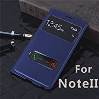 Samsung Galaxy Note II N7100 S-View Flip Cover - Blue