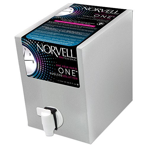Norvell ONE One Hour Rapid Sunless Solution EverFresh Box - Liter (Spray Tan Solution compare prices)