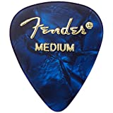 Fender Moto Style Guitar Picks, 12 Pack - Blue