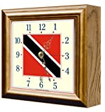 Flag Clock Trinidad & Tobago FCT9