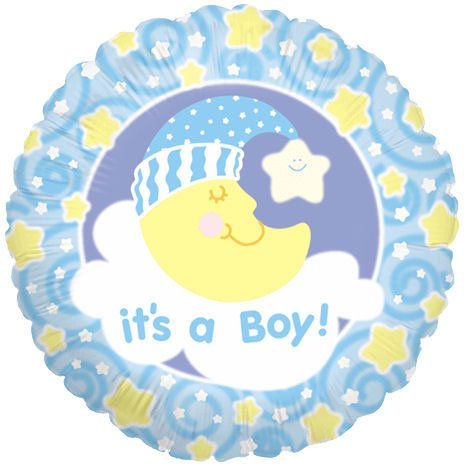 "18"" It's A Boy Slumber Moon"