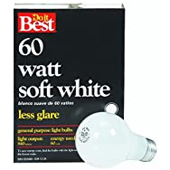GE Private Label 21050 Do it Best Soft White Light Bulb-60W 4PK SW BULB