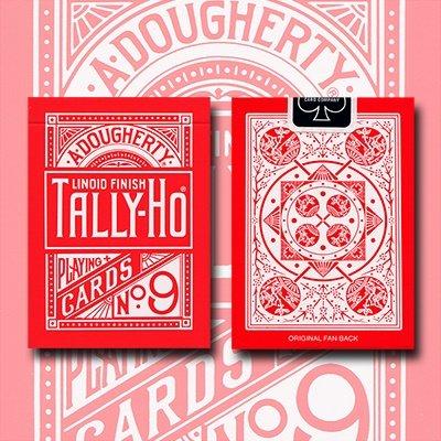 tally-ho-reverse-fan-back-red-limited-ed-by-aloy-studios-uspcc
