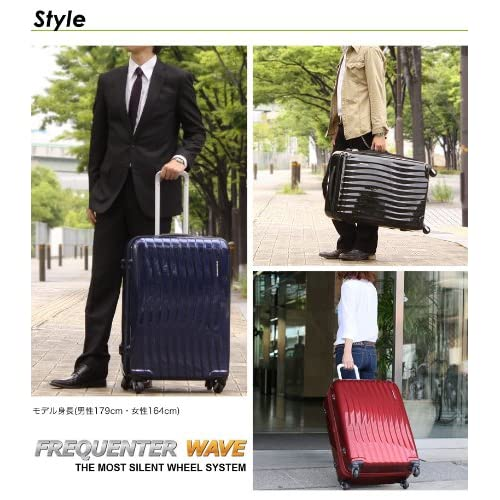 FREQUENTER WAVE スーツケース 89L 1-624-BLACK(クロ)