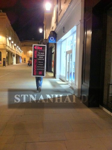 Stnanhai World Famous Modern Design,Indoor/Outdoor Led Full Color Display Sign,Led Illuminated Slim Battery Operated With Internal Led