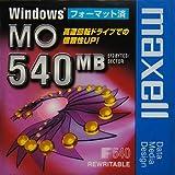 マクセル 3.5インチ MOディスク 540MB Windowsフォーマット済 1枚 maxell MA-M540.WIN.B1P