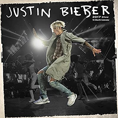 Justin Bieber 2017 Small Wall Calendar