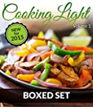 Cooking Light Volume 1 (Complete Boxed Set): With Light Cooking, Freezer Recipes, Smoothies and Jucing