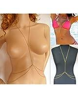 Kgljean Fashion Body Chain Bikini Body Necklace For Woman