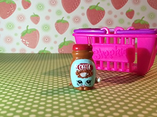 Shopkins Season 2 #2-075 Brown Toffy Coffee (Rare)