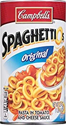 Campbell\'s SpaghettiOs, Original, 22.4 Ounce (Pack of 12)