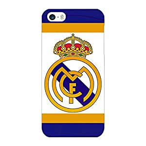 Jugaaduu Real Madrid Back Cover Case For Apple iPhone 5S