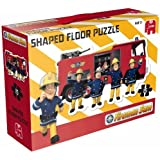 Jumbo Games Fireman Sam Shaped Floor Puzzle (15 Pieces)