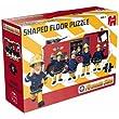 Jumbo Games Fireman Sam Shaped Floor Puzzle (15 Pieces)