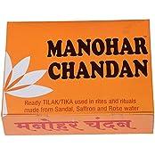 Manohar Sugandhi & Co Manohar Chandan Wooden Incense Sticks (180 G, Pack Of 12)