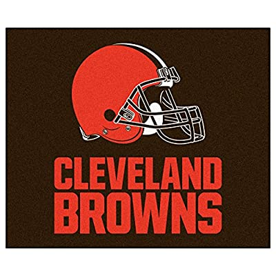 FANMATS NFL Cleveland Browns Nylon Face Tailgater Rug