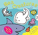img - for A Mini Magic Color Book: Sea Creatures book / textbook / text book