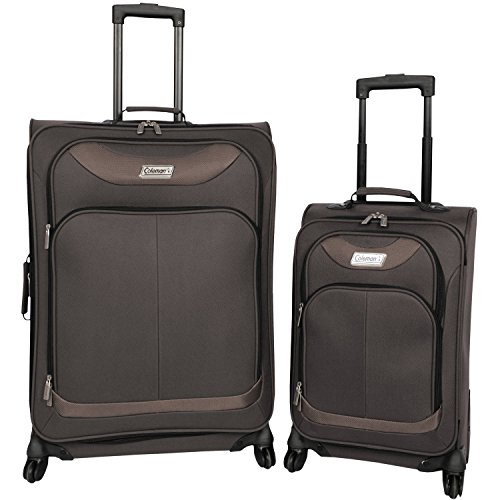 Coleman 2-Piece Luggage Set, Brown (Coleman Luggage compare prices)