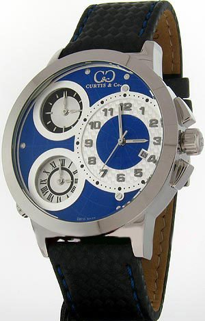 CURTIS & Co. Timepieces W50BL-S