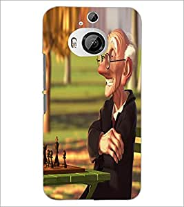 Printdhaba Funny Image D-4014 Back Case Cover For Htc One M9 Plus