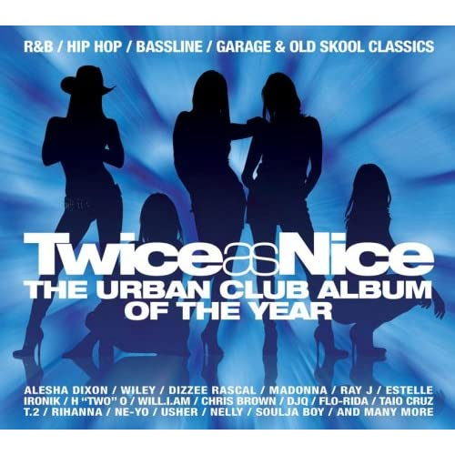 Cover: VA - Twice As Nice Presents The Urban Club Album Of The Year